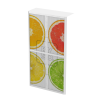 Easy Office Tambour Cupboard 200cm H with 4 shelves FruitCitrus
