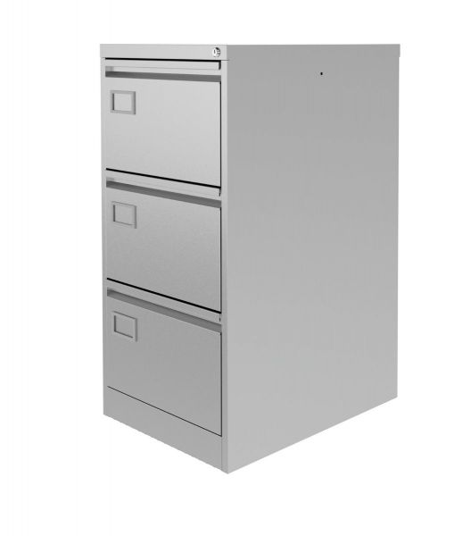 Silverline Executive Filing Cabinet 3 drawer Executive foolscap 1009Hx458Wx620mmD FCEX3F