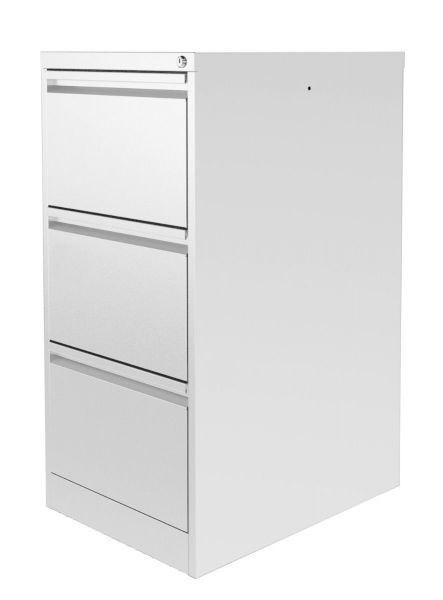 Silverline M-Line Filing Cabinet 3 drawer M:Line foolscap 1009Hx458Wx620mmD FCLM3F