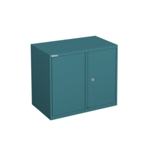 Bisley Essentials Desk 2 Door locking cupboard with 1 shelf H 69 W 100 D 47 cm YECB10071S--Doulton AN7