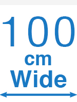 100cm Wide
