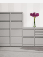 Grey 2,3 and 4 drawer filing cabinets