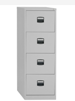 Basic 4 Drawer Filing Cabinets