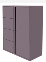 Silverline Personal HD Storage drawers and cupboards/lockers