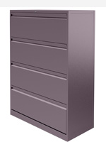 Silverline 2, 3 or 4 drawer Side Filers