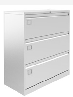 Bisley and Silverline 2,3 and 4 drawer side Filers
