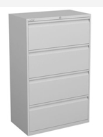Next Day 4 Drawer Premium Filing Cabinets